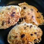 Greek Yogurt Chocolate Chip Pancakes