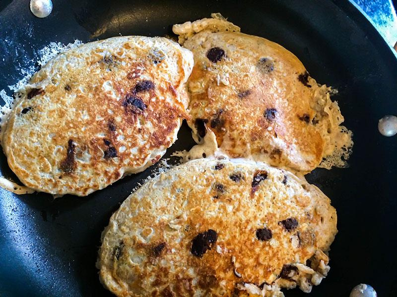 Greek Yogurt Choc Pancakes 3