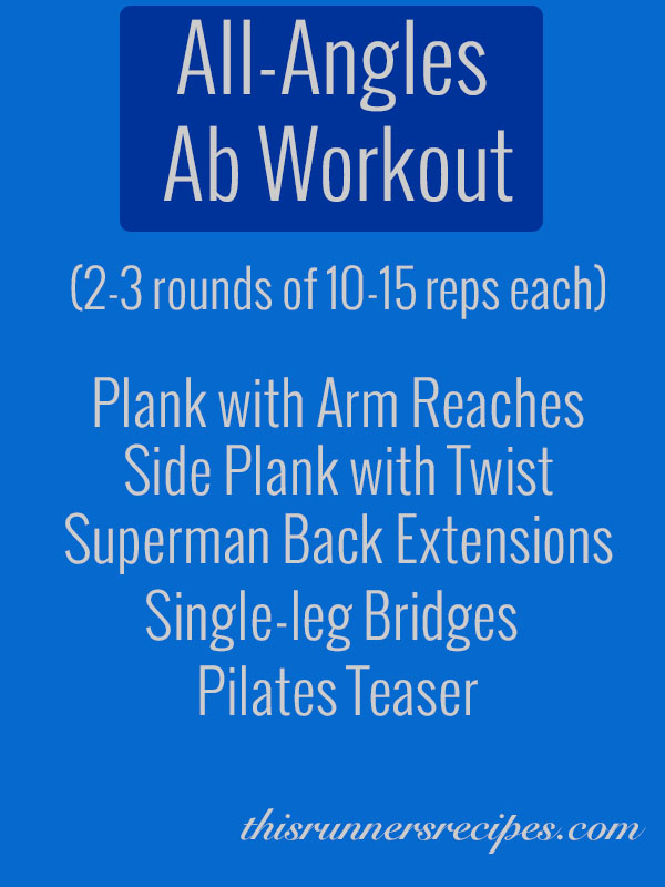 All angles abs workout