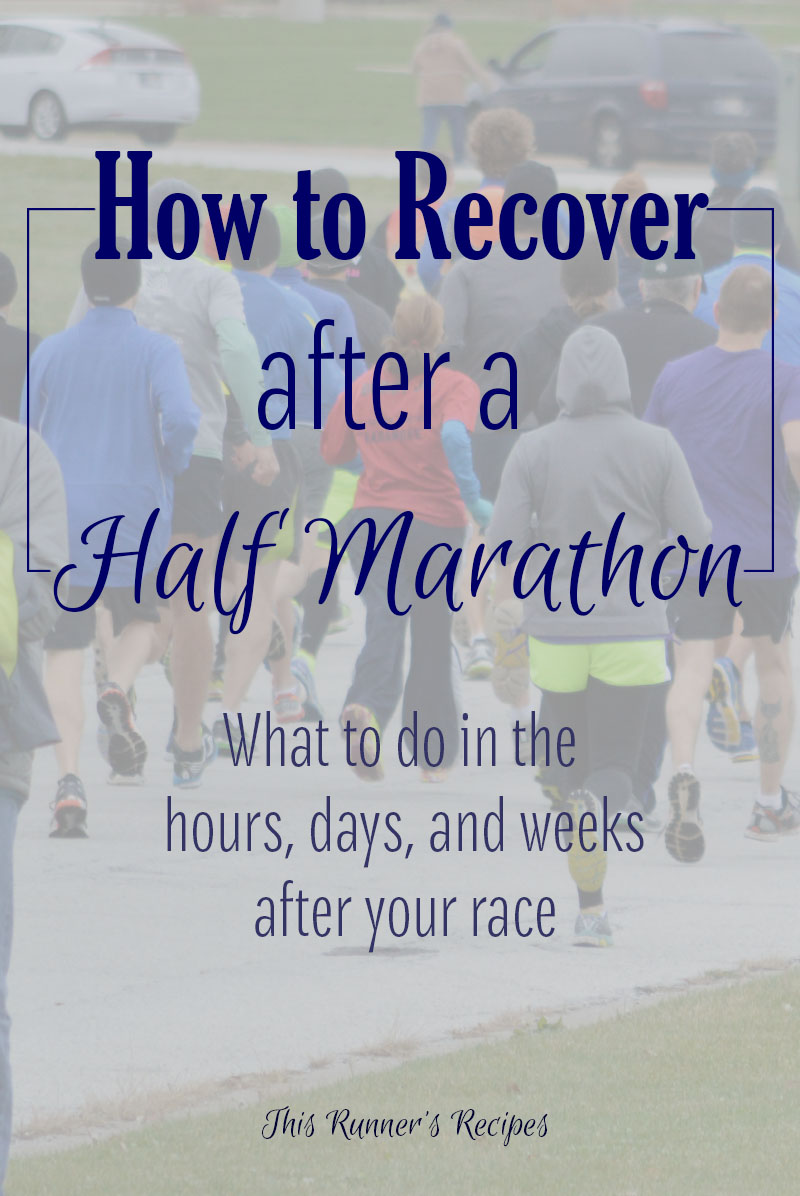 How to Recover After a Half Marathon