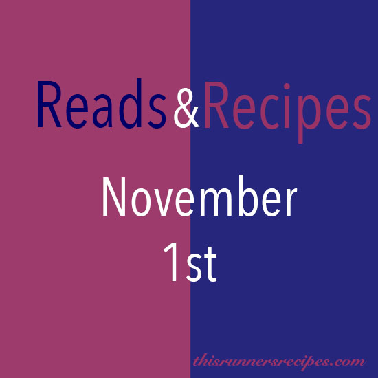 Reads and Recipes November 1