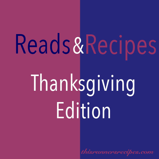 Reads and Recipes Thanksgiving Edition