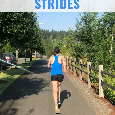 How Running Strides Can Improve Your Form and Speed