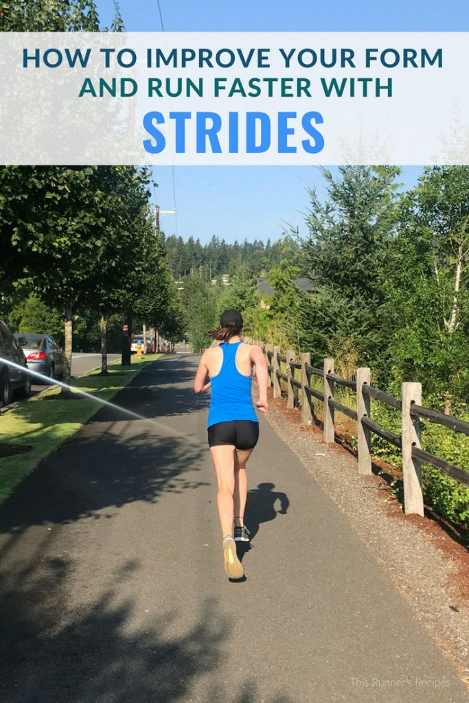 How Strides Can Improve Your Form and Speed