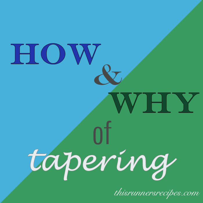 How and Why of Tapering Before a Race
