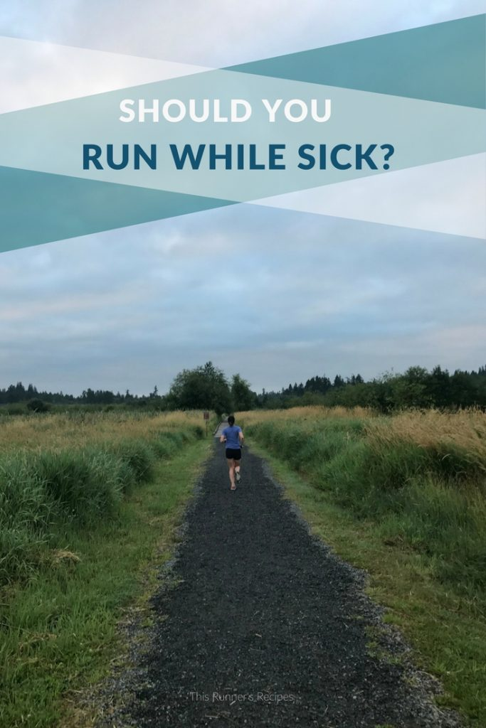 Running When Sick: How to Know when to Run and When to Rest when You are Sick