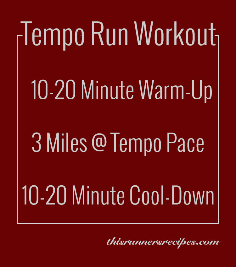 Tempo Run Workout