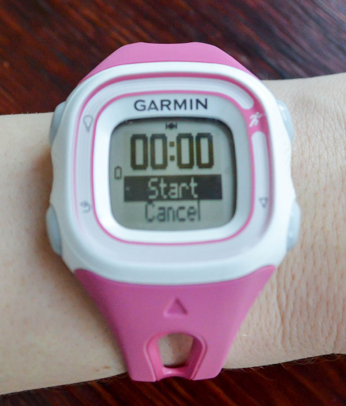Running gear Garmin