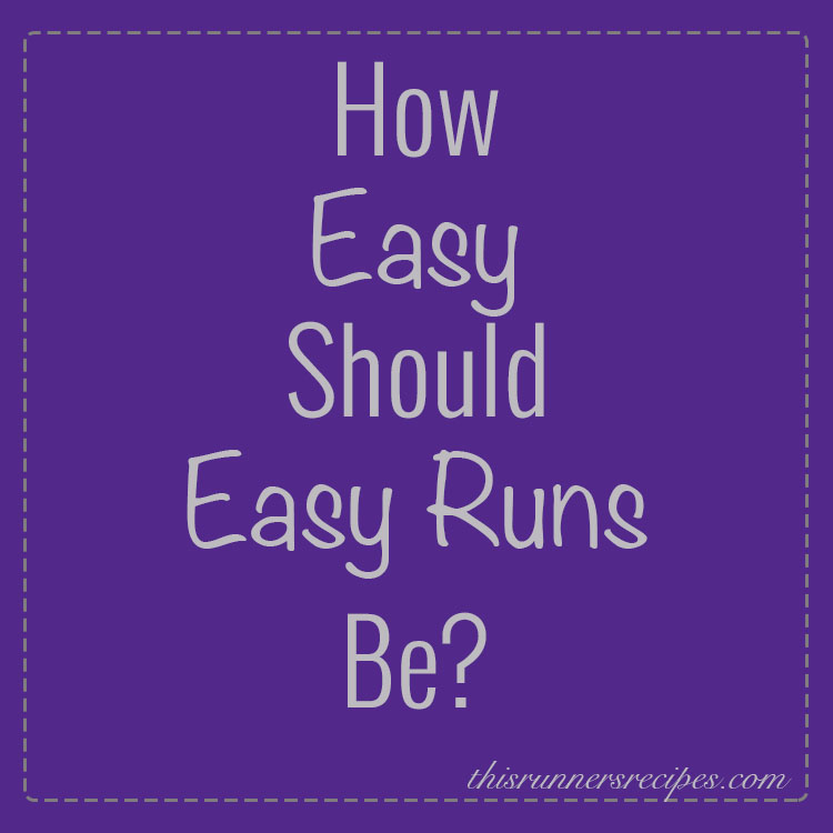How Easy Should Your Easy Runs Be?