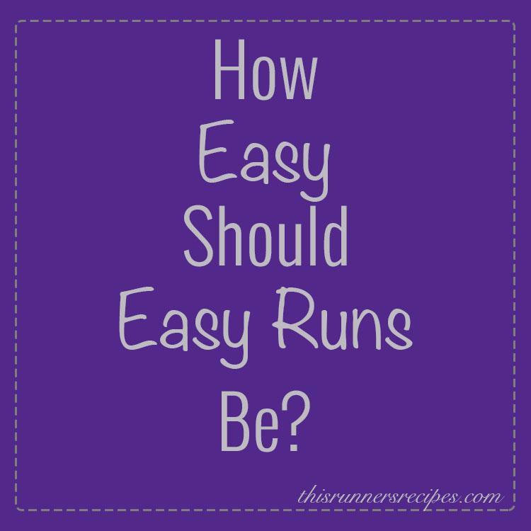 Easy Runs