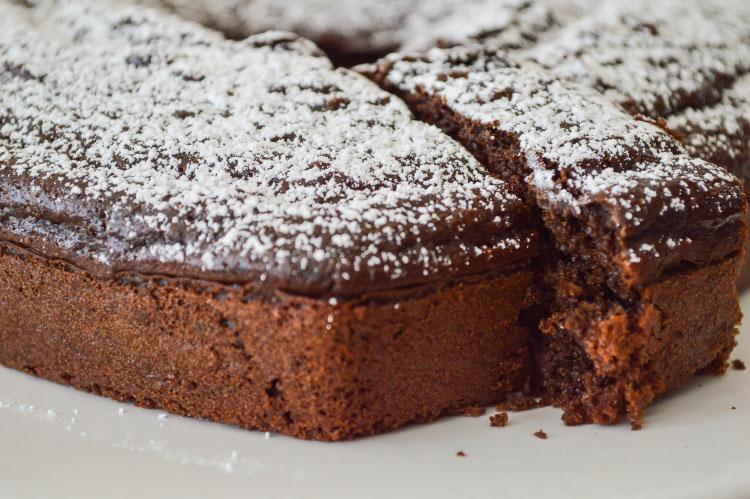 Fudgy Chocolate Beer Cake