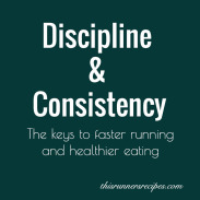 Discipline and Consistency