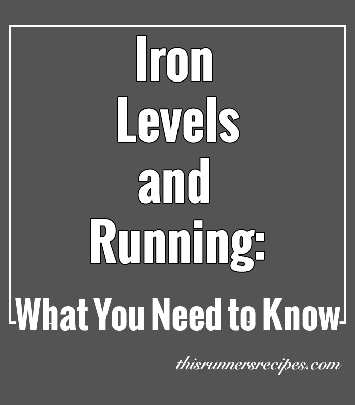 Iron Levels and Running