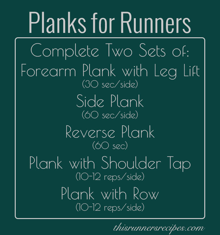 Planks for Runners