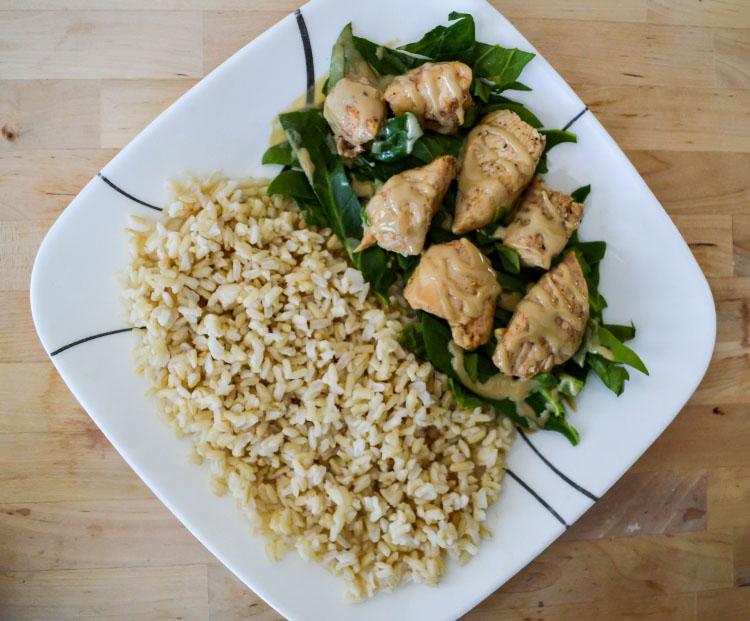 Mediterranean Spiced Chicken with Brown Rice