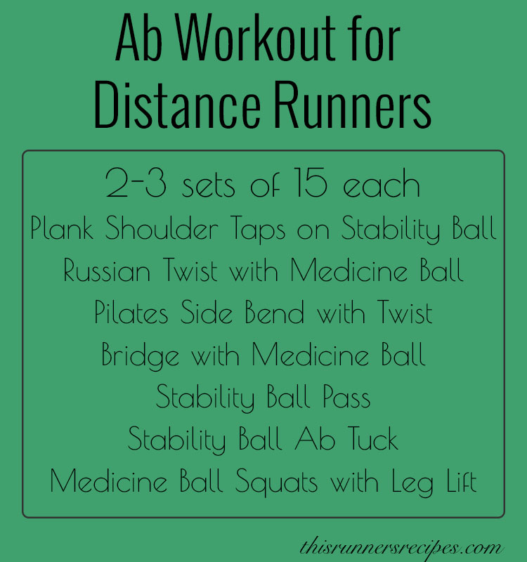 Ab Workout for Distance Runners