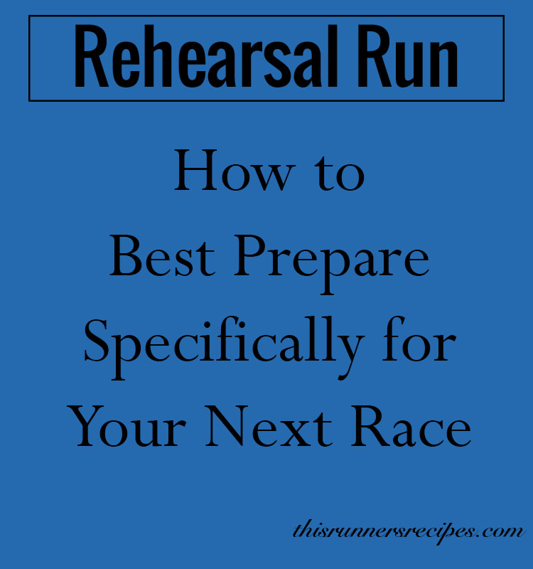 Rehearsal Run