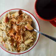 Apple Cinnamon Chia Seed Oatmeal