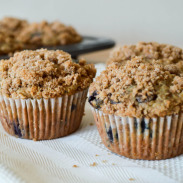Oatmeal Blueberry Chocolate Chip Muffins