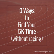 5K Pace Calculator Workouts