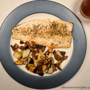 Herbes de Provence Trout with Olive Oil Sauteed Red Potatoes