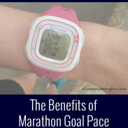 Marathon Monday: Marathon Goal Pace Training + Portland Marathon Training Week 4
