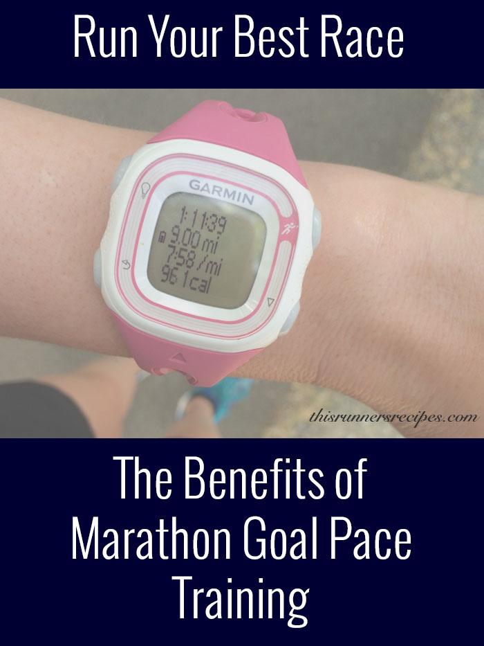 Marathon Monday: Marathon Goal Pace Training + Portland Marathon Training Week 4