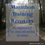 Marathon Monday: Marathon Training Recovery + Portland Marathon Training Week 3