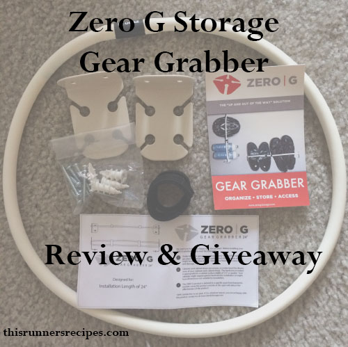 Zero G Storage Review and Giveaway | This Runner's Recipes