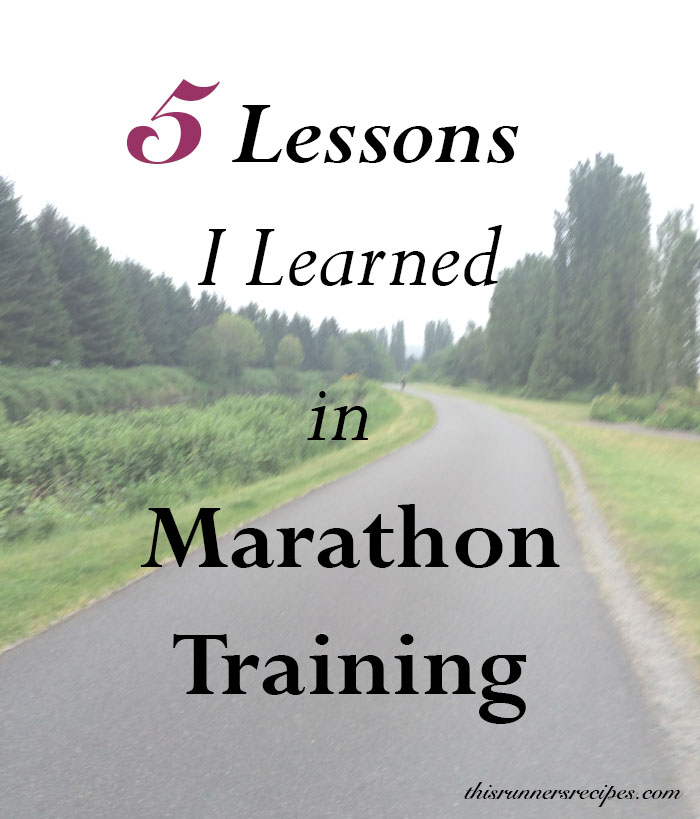 5 Lessons I Learned in Marathon Training