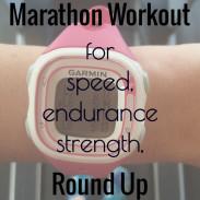 Marathon Monday: Marathon Workout Round Up + Portland Marathon Training Week 6