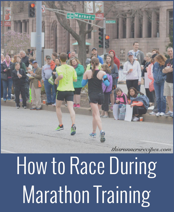 Add Races to Marathon Training