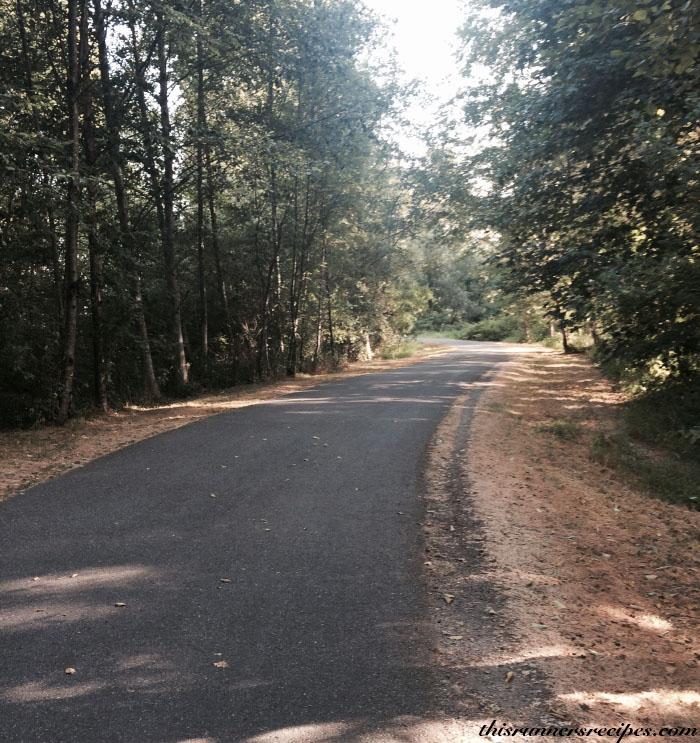 Running Trail, Seattle Washington