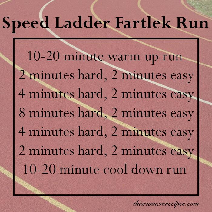 Speed Ladder Workout Fartlek