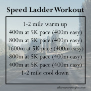 Speed Ladder Workout and Why You Should Do Speed Work