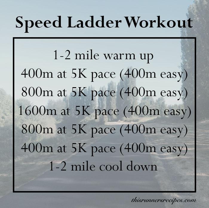 Speed Ladder Workout