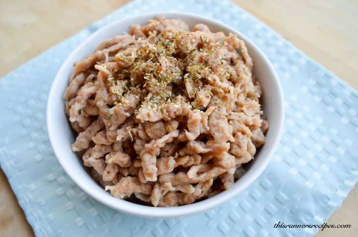 Whole Wheat Spaetzle