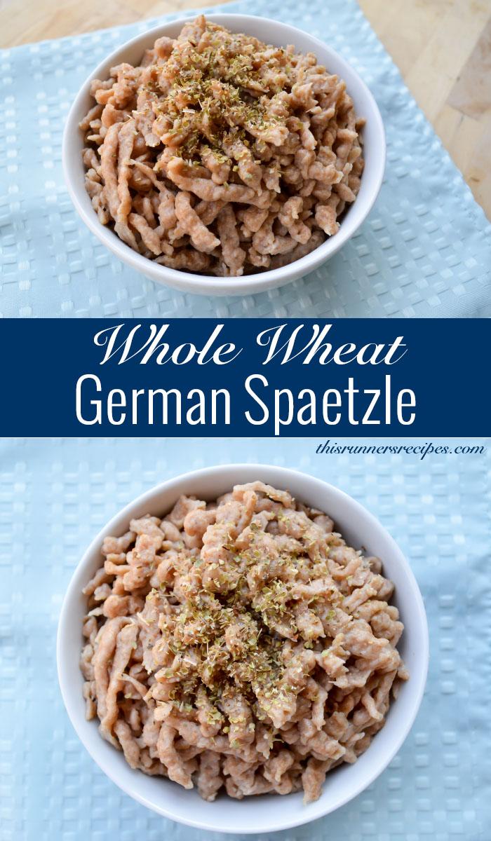 Whole Wheat Spaetzle