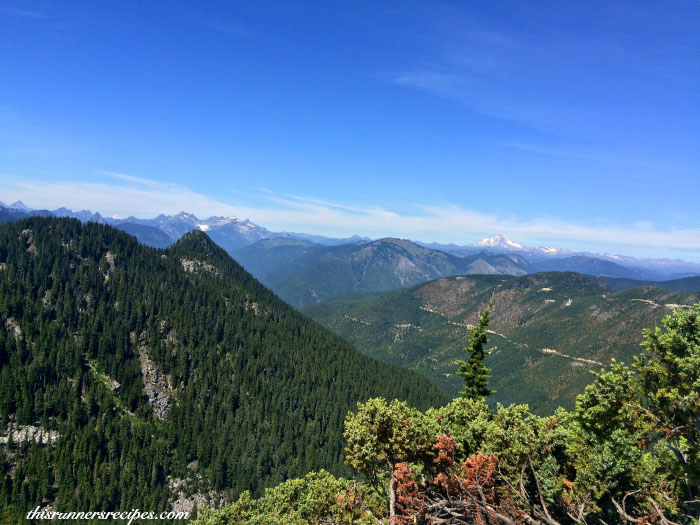 Hiking to Beckler Peak