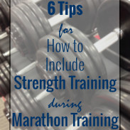 How to Include Strength Training During Marathon Training {Marathon Monday} + Portland Training Week 10