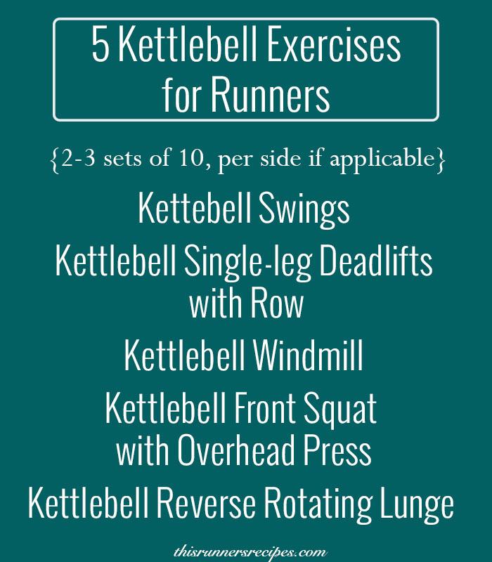Five Kettlebell Exercises for Runners