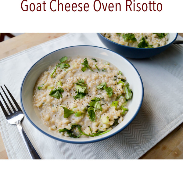 Eat to Run Cookbook Ebook Goat Cheese Oven Risotto Recipe