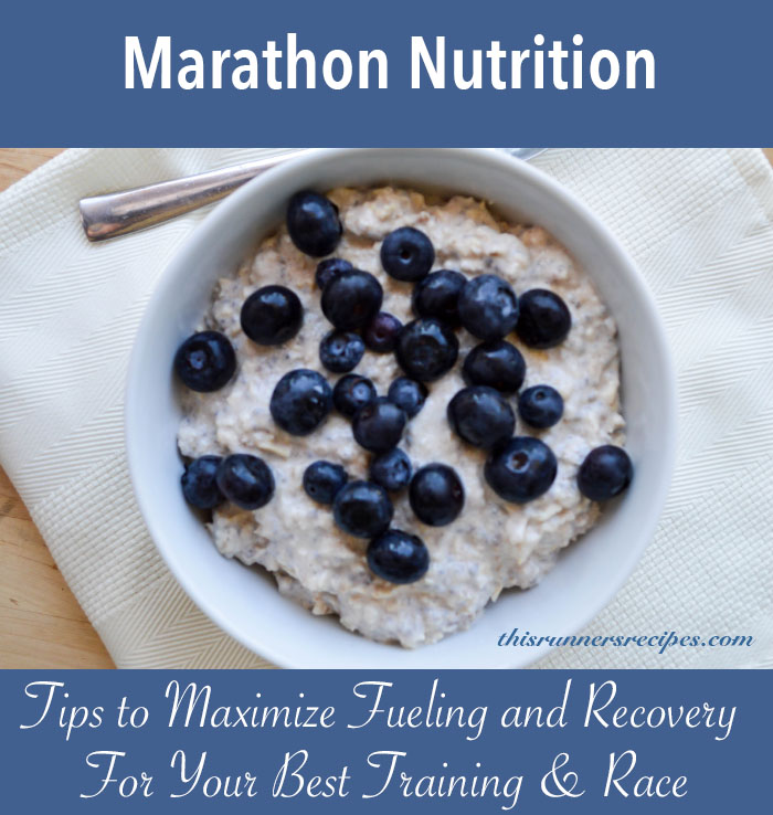 Marathon Nutrition {Marathon Monday} + Portland Marathon Training Week 16