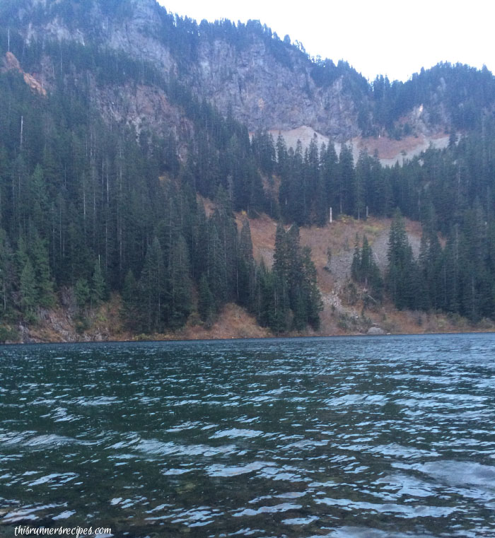 Camping at Annette Lake