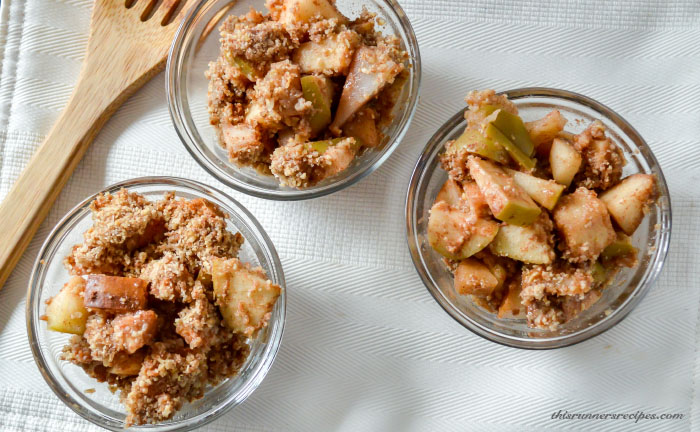 Gluten Free Apple Pear Crumble