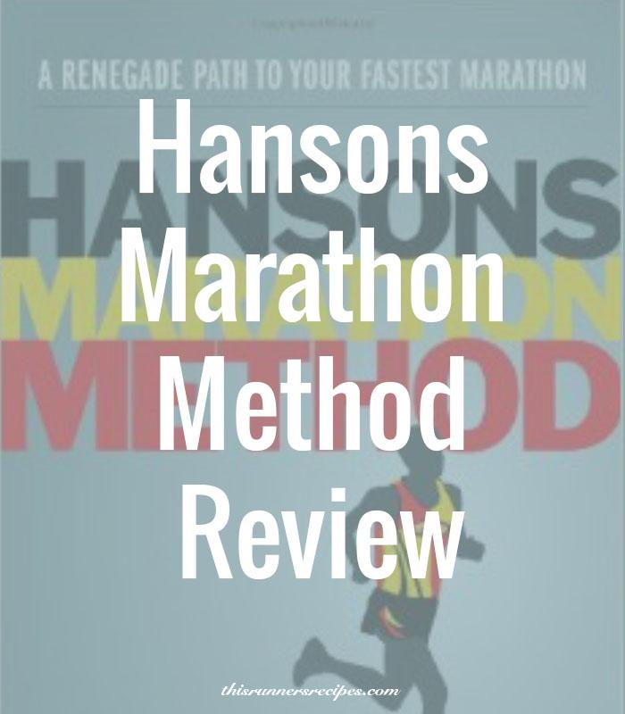 Hansons Marathon Method Post-Race Review