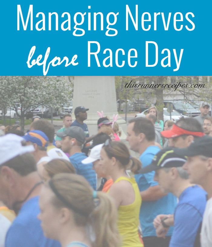 Managing Race Day Nerves {Marathon Monday} + Portland Training Week 18