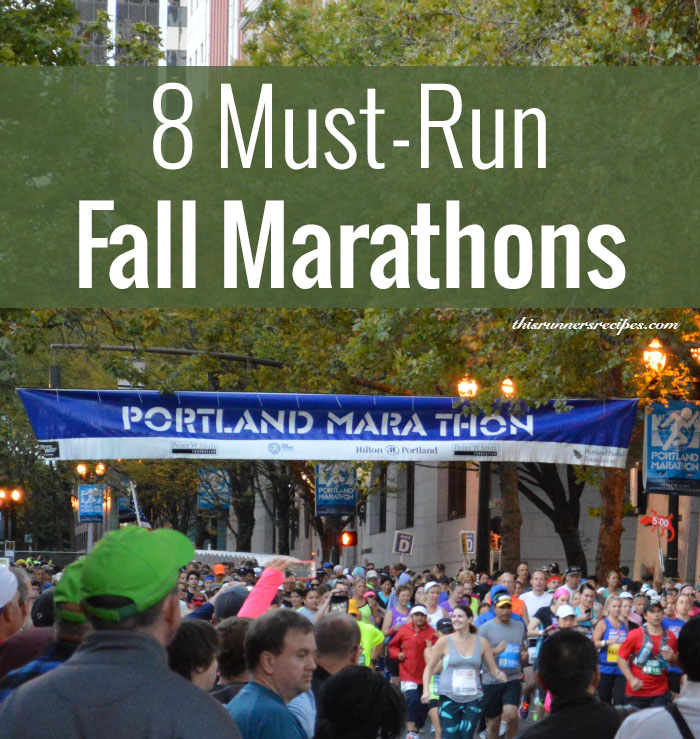 8 Must-Run Fall Marathons (That Aren't Chicago or New York City)
