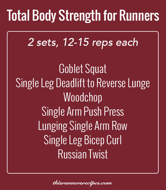 Total Body Strength Training for Runners