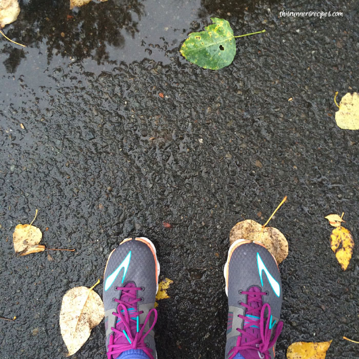 Mile Markers: Running in the Seattle rain